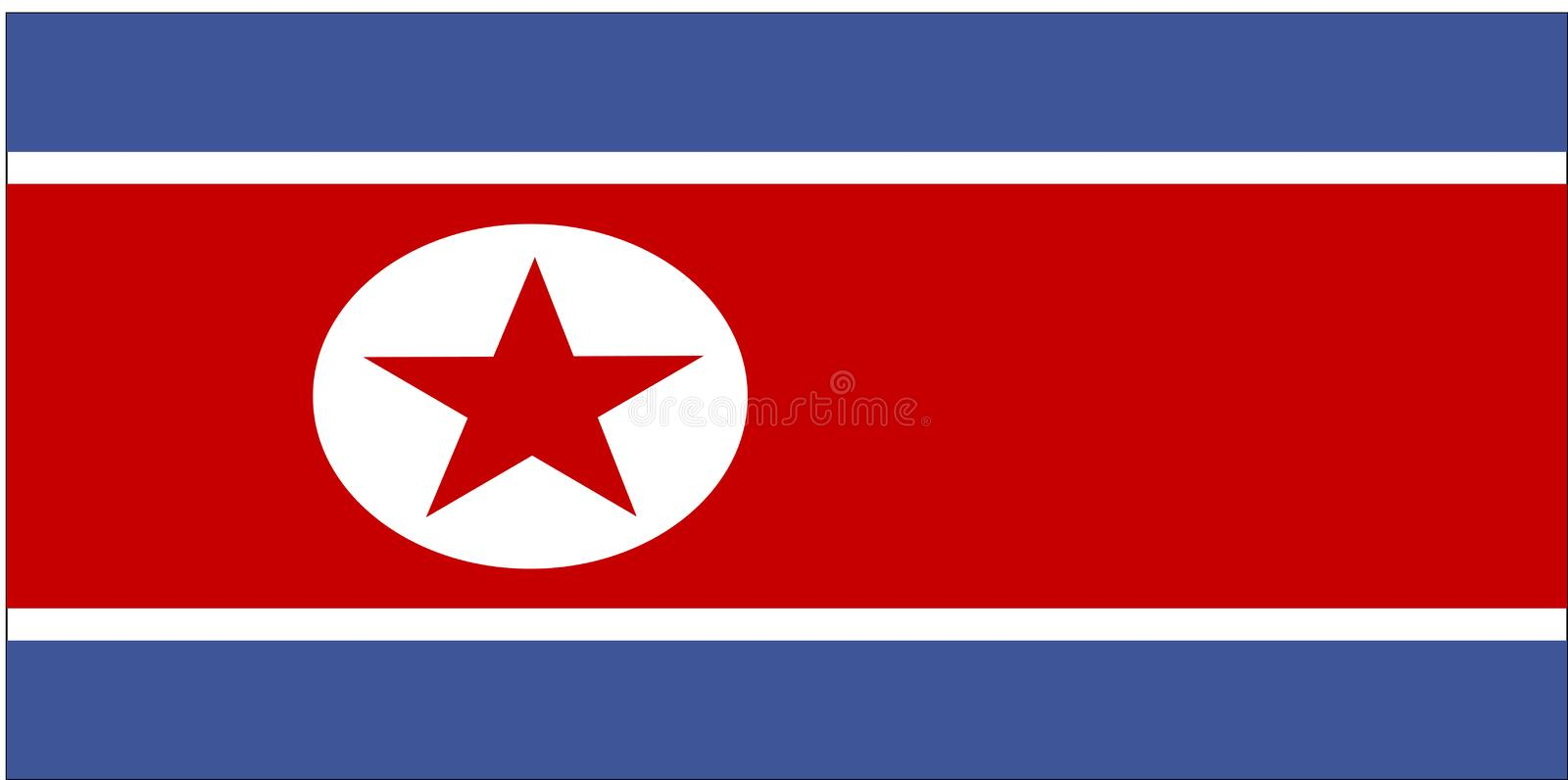 Flag Of North Korea Royalty Free Stock Images