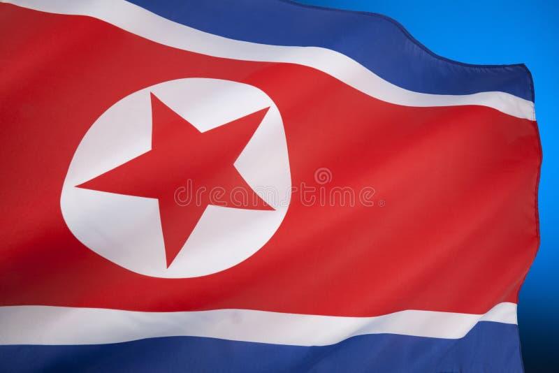 Flag Of North Korea Royalty Free Stock Photo