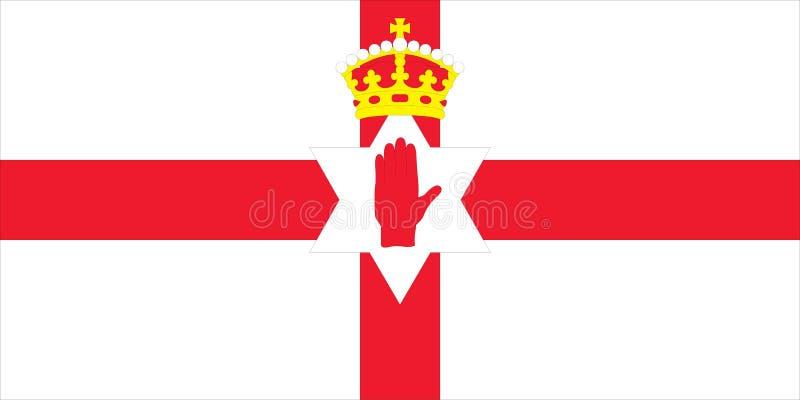 Flag Of Northern Ireland Royalty Free Stock Photos