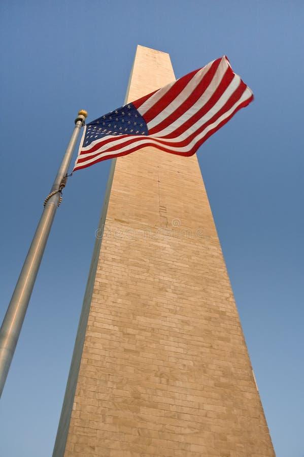 flag obelisk στοκ εικόνα