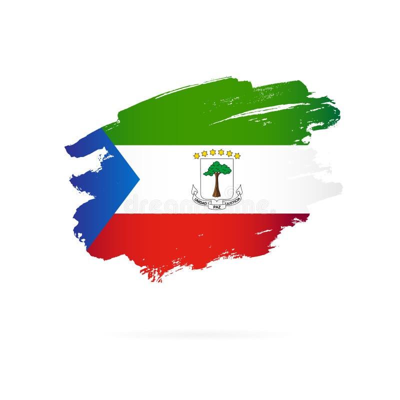 Free Flag Of Equatorial Guinea. Vector Illustration Stock Image - 157449141