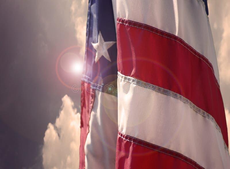 flag oss royaltyfri fotografi