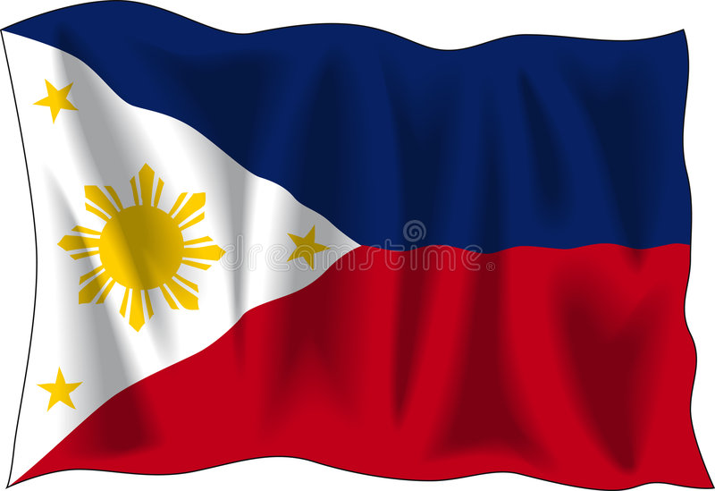 Download Flag of Philippines stock vector. Image of philippines - 3054849