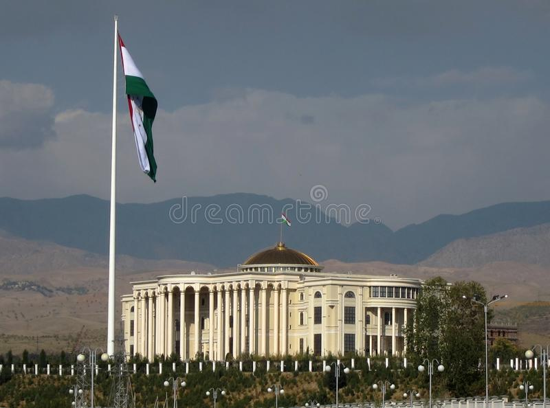 Download Flag Pole In Dushanbe, Tajikistan Editorial Photography - Image: 21698527