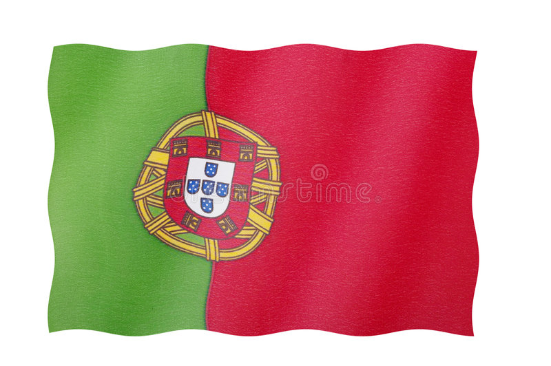 Download Flag Of Portugal stock photo. Image of portugal, nationality - 5361654