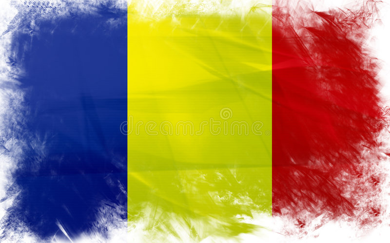 Flag Of Romania Stock Images
