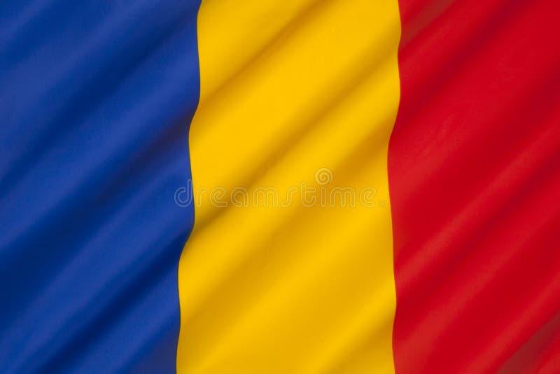 Flag of Romania - Romanian Flag stock photos