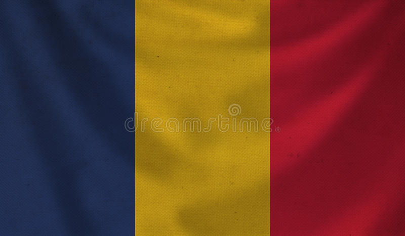 Romania Map Rough Outline Against The Backdrop Of. Stock ...