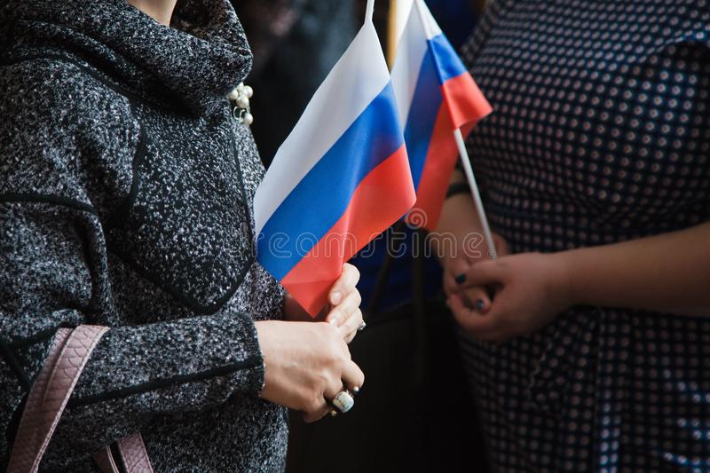 Download Flag of Russia stock image. Image of stripes, smiling - 90510925
