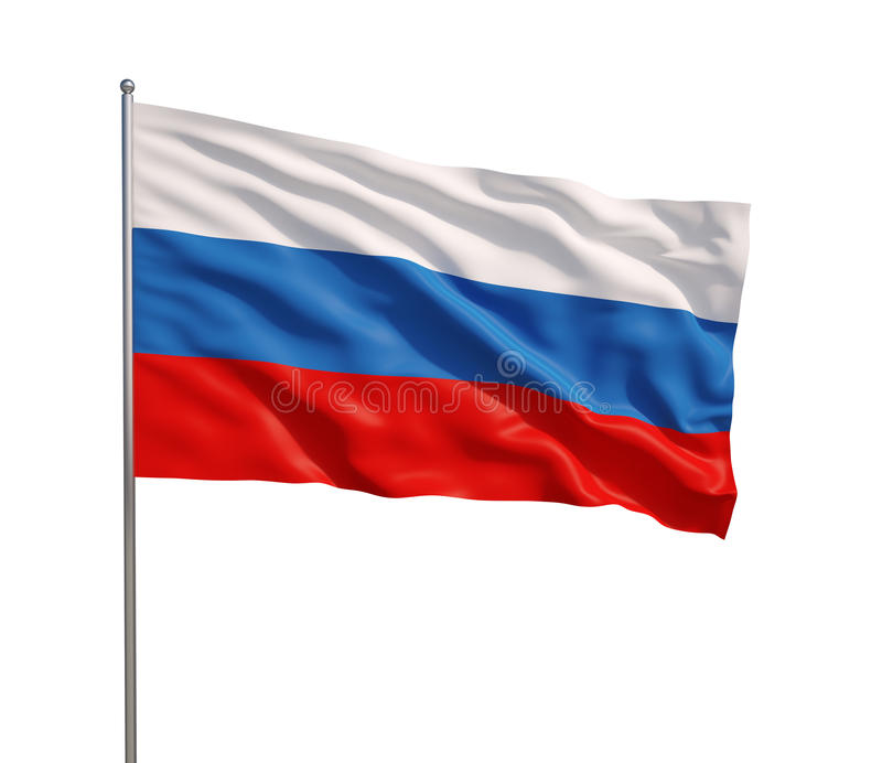 Flag of Russia royalty free stock images