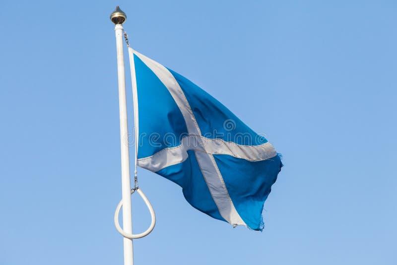 Flag of Scotland stock image