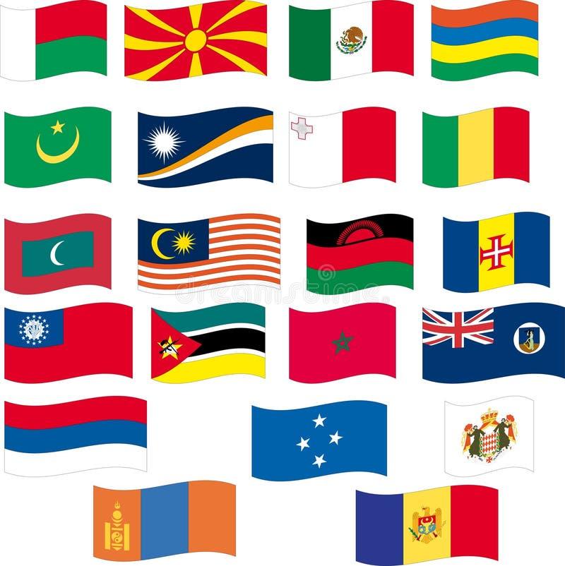 Download Flag Set - Part 8/12 - Letter M Stock Vector - Image: 15282034