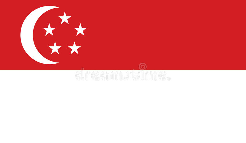 Download Flag Of Singapore  Icon Illustration Stock Illustration - Illustration of official, government: 82378116