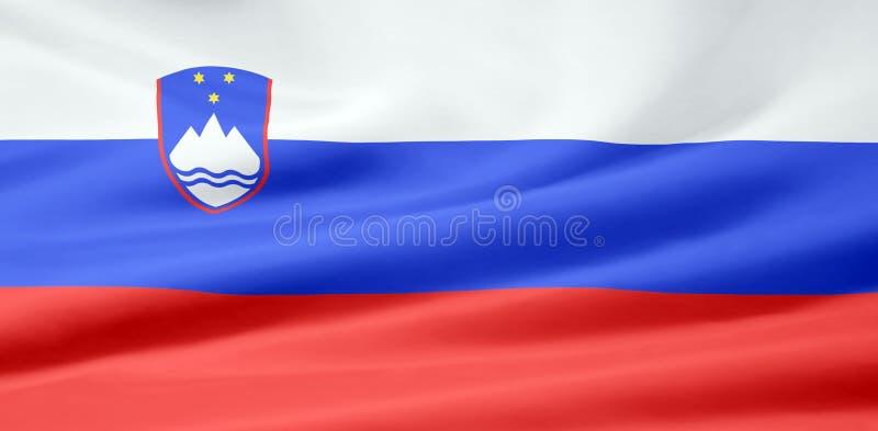 Flag of Slovenia royalty free stock photography