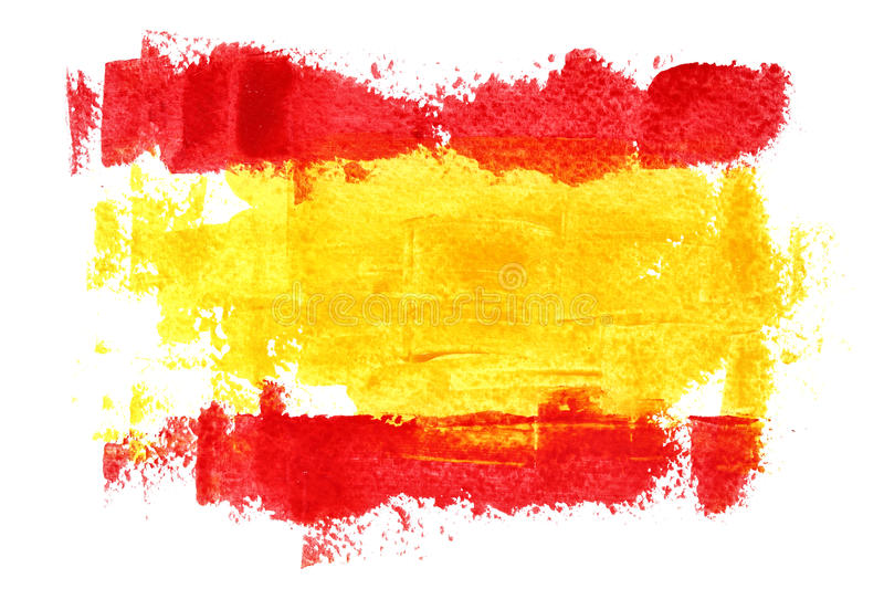 Flag of Spain vector illustration