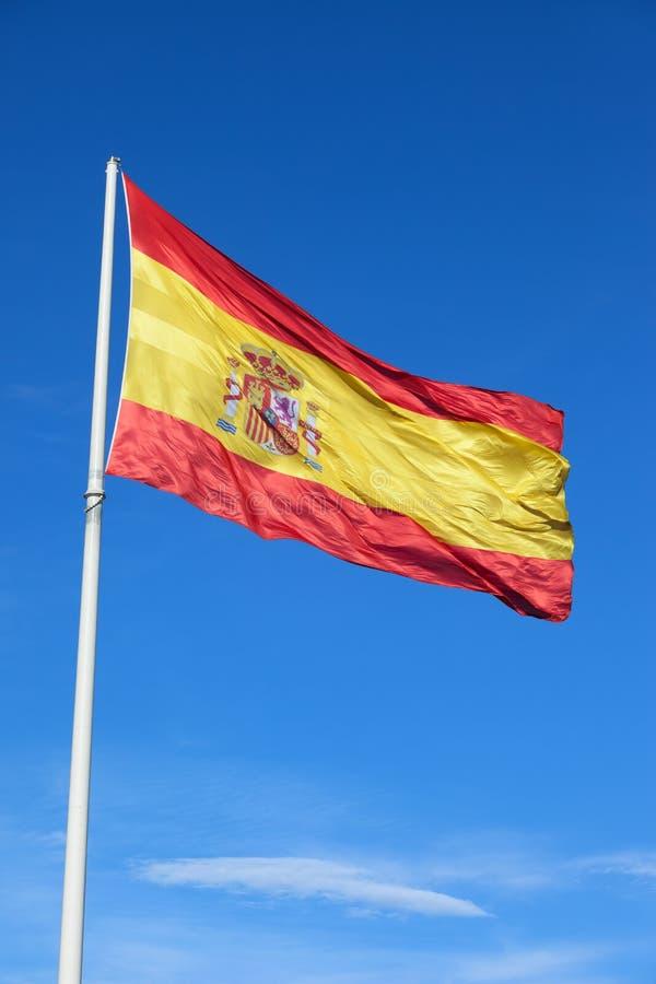 Flag of Spain royalty free stock photos