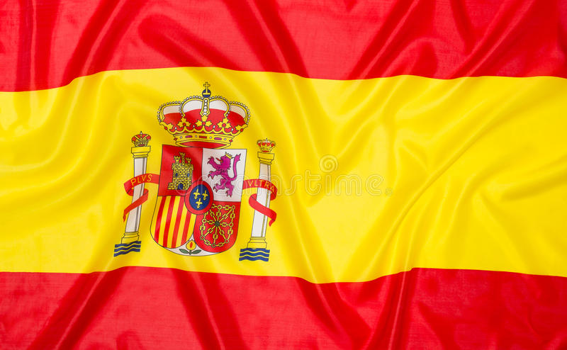 Flag of Spain Spanish stock images