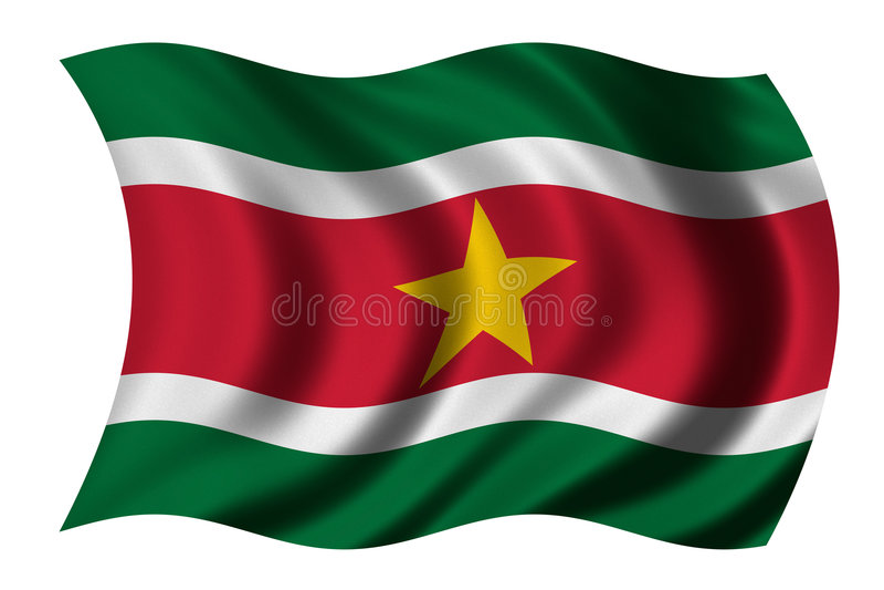 Download Flag of Suriname stock illustration. Illustration of illustration - 3954186