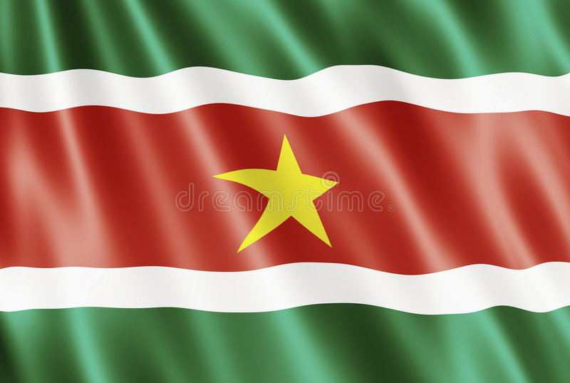Download Flag Of Suriname stock illustration. Illustration of country - 7959091