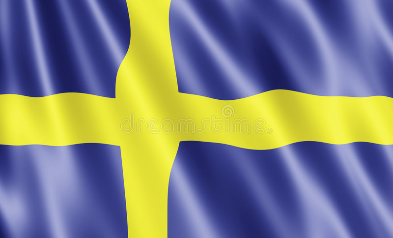 Download Flag Of Sweden stock illustration. Illustration of flag - 7959122
