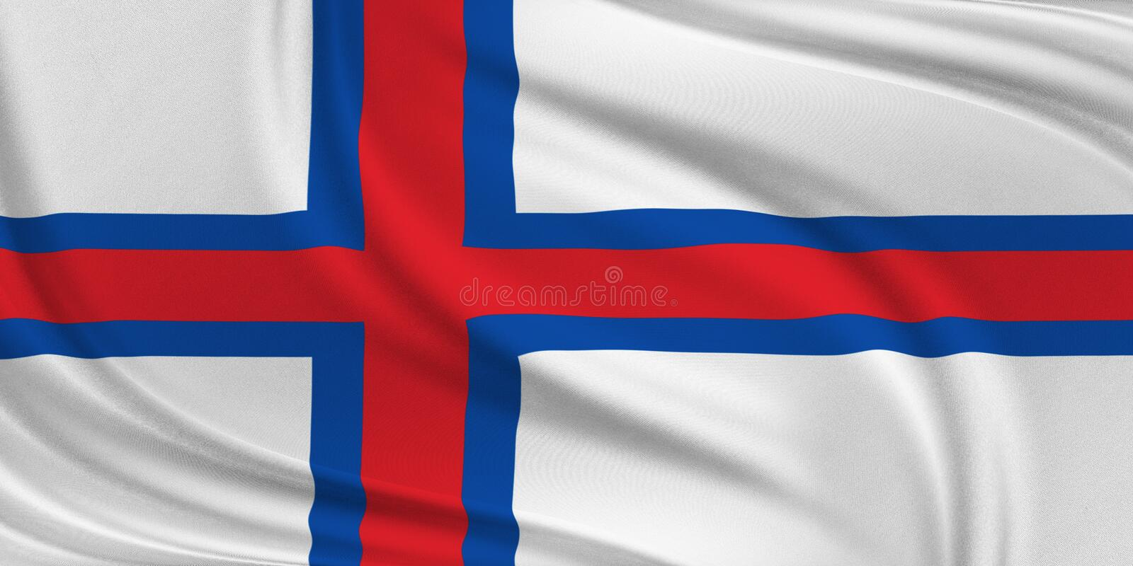 Flag of Sweden. stock photography