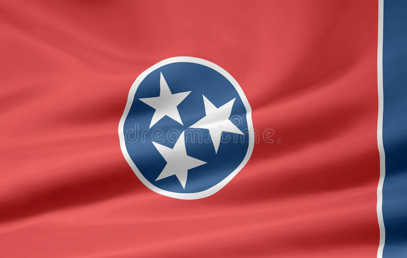 Flag of Tennessee. A very large version of the flag of Tennessee
