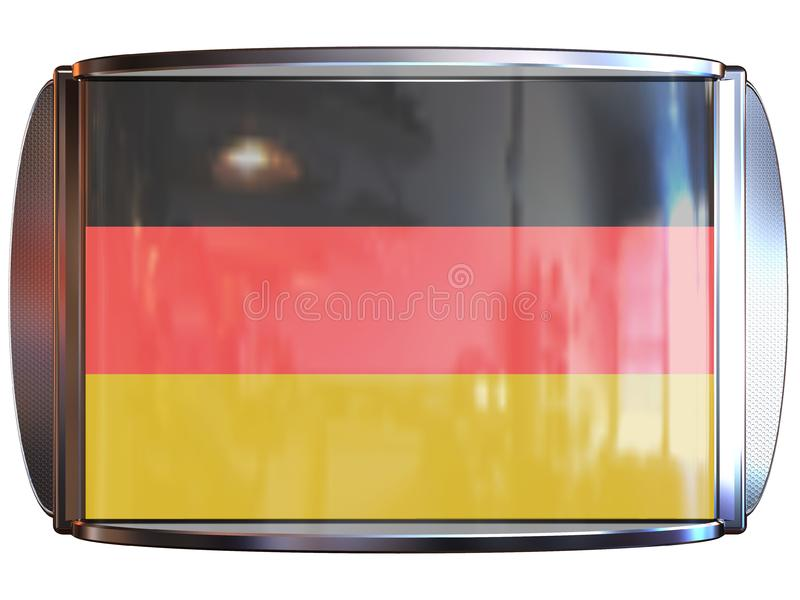 Flag to Germany