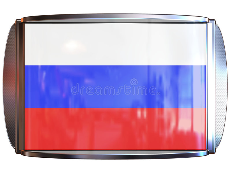 Download Flag to Russia stock illustration. Image of brooch, badge - 3967908