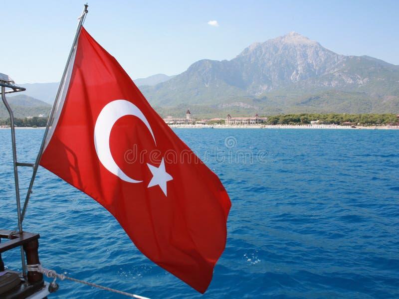 Flag Turkey Royalty Free Stock Photos