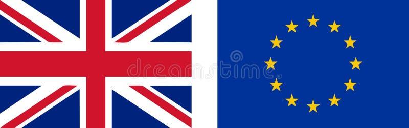 flag of the uk and eu stock vector illustration of vector 79231835 rh dreamstime com union jack vector free download union jack vectoriel