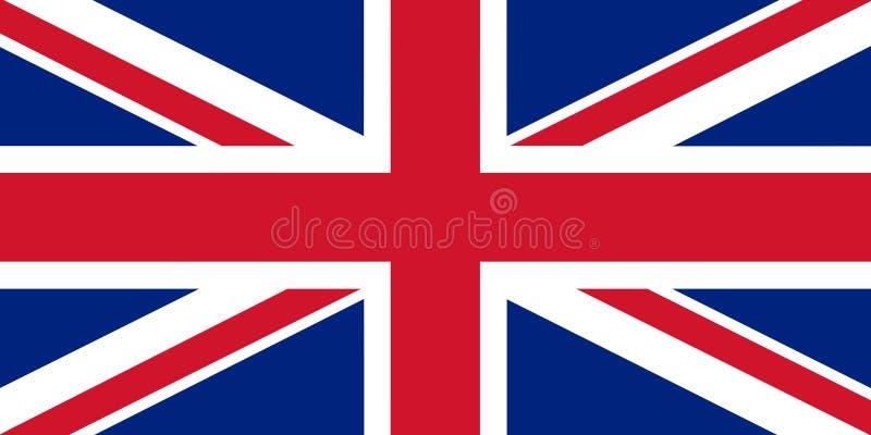 Flag of UK stock illustration