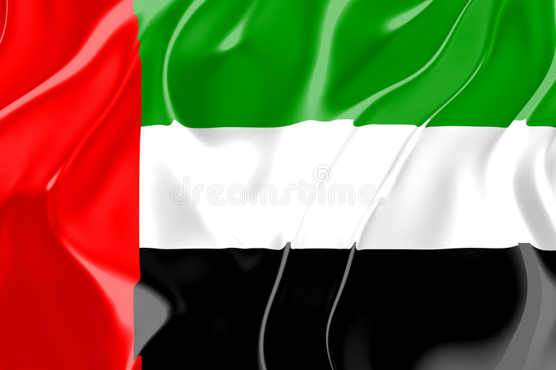 Download Flag Of United Arab Emirates Stock Illustration - Illustration: 7811026