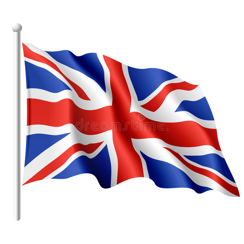 Flag of the United Kingdom vector illustration
