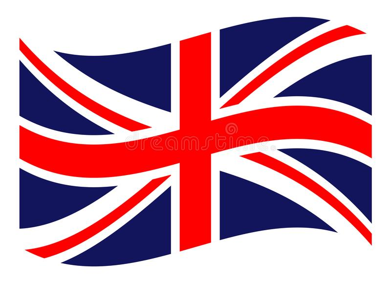 Flag of the United Kingdom. British background, vector illustration vector illustration