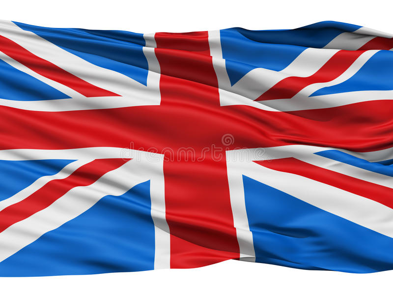 Flag United Kingdom Of Great Britain. Flag of the United Kingdom Of Great Britain and Northern Ireland, also known as the Union Jack royalty free illustration
