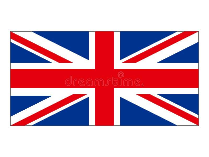 Flag of the United Kingdom. Vector illustration of the Flag of the United Kingdom stock illustration