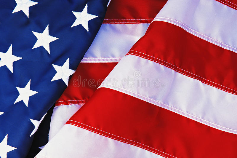Flag of the United States stock photos