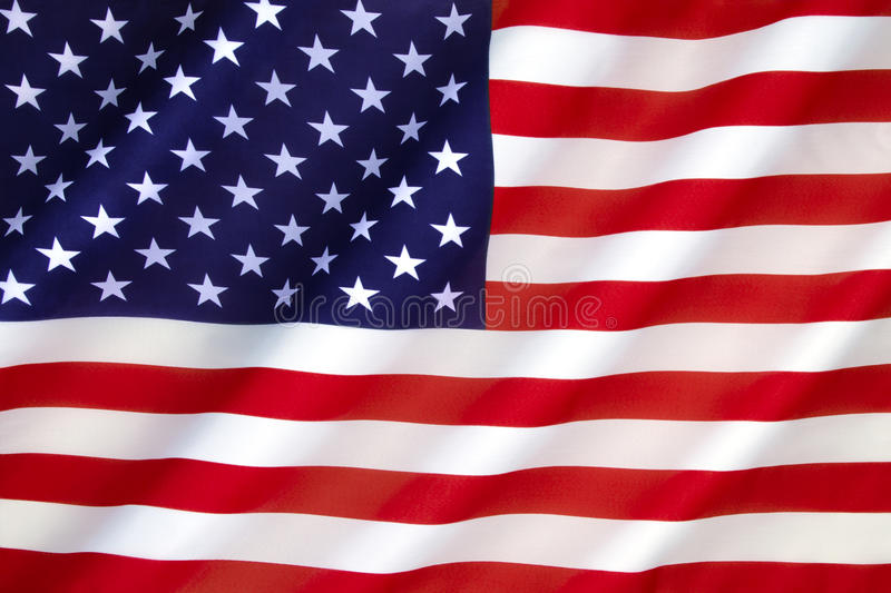 Flag of the United States of America royalty free stock photography