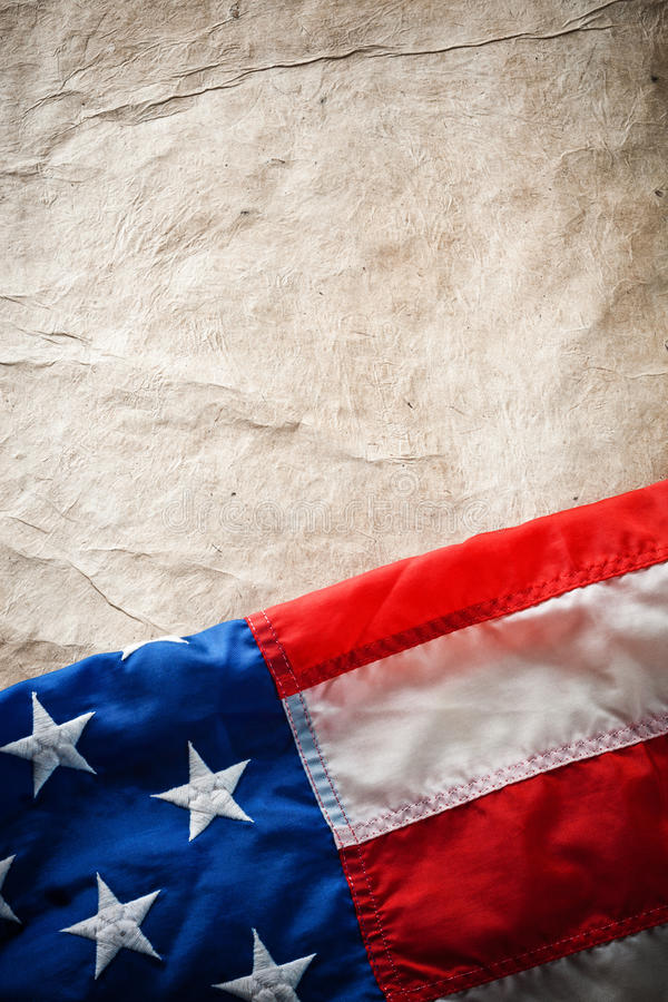 Flag USA royalty free stock photo