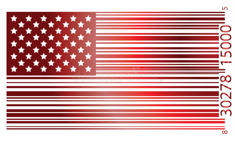 Flag USA vector illustration