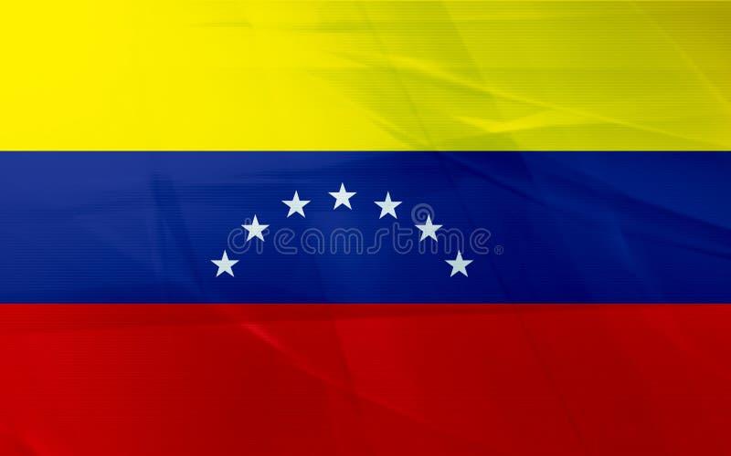 Flag of venezuela royalty free illustration