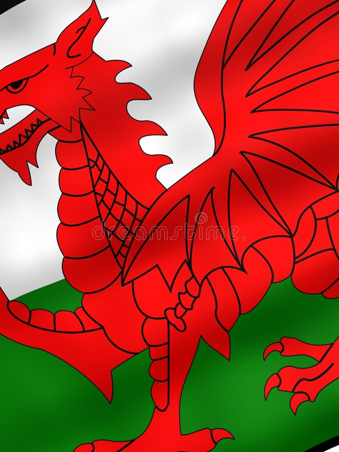 Download Flag of Wales stock illustration. Image of england, federation - 1132766