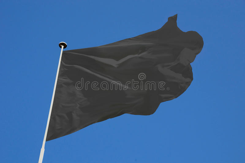flag white arkivbild