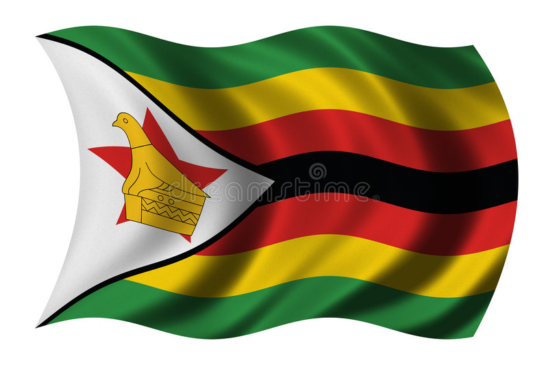 Download Flag Of Zimbabwe Stock Photography - Image: 4033162