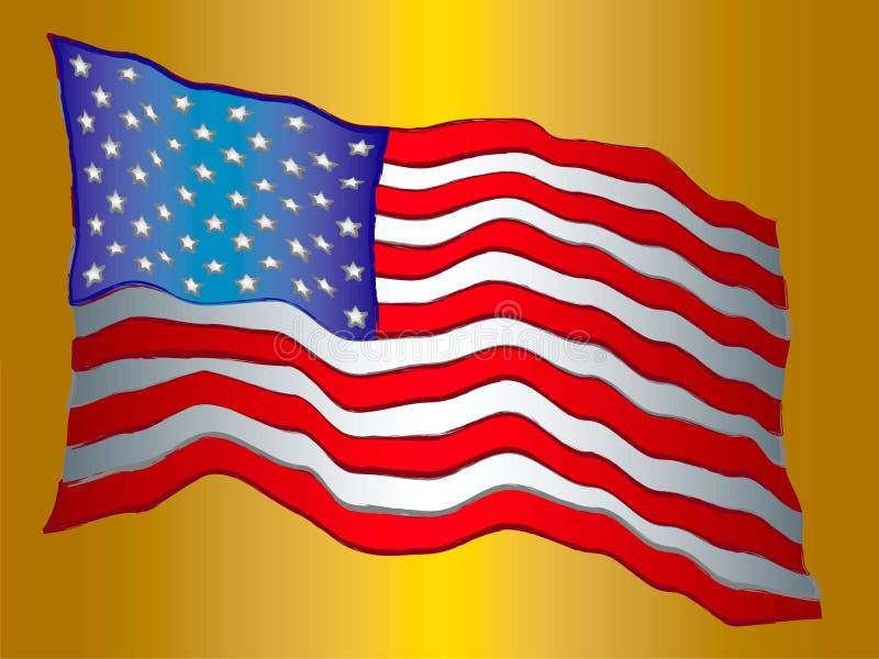 Flag1 imagen de archivo libre de regalías