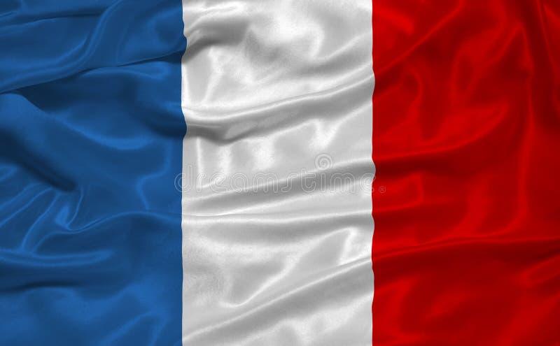 flaga 3 France obraz royalty free