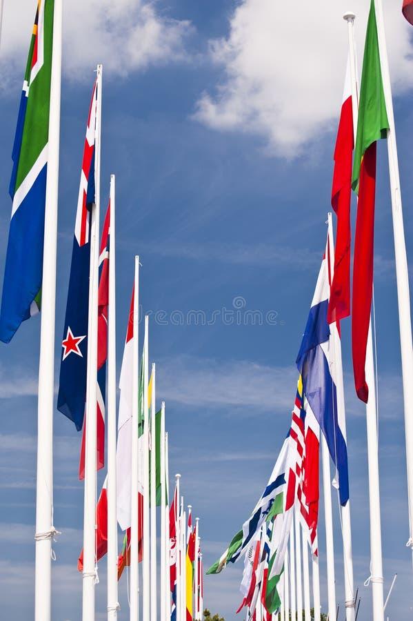 Flaga zdjęcie royalty free