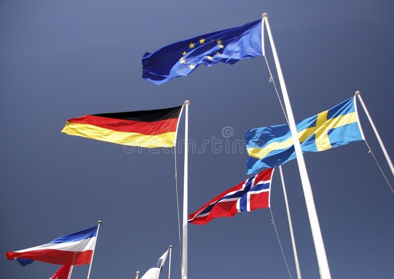 Flaga obraz stock