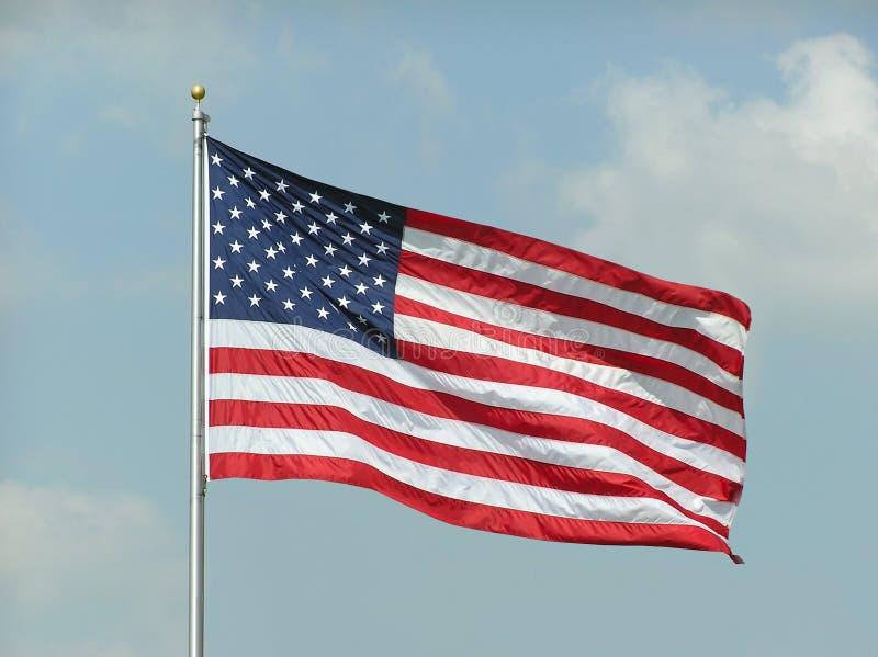 Flaga Amerykańska zdjęcia stock
