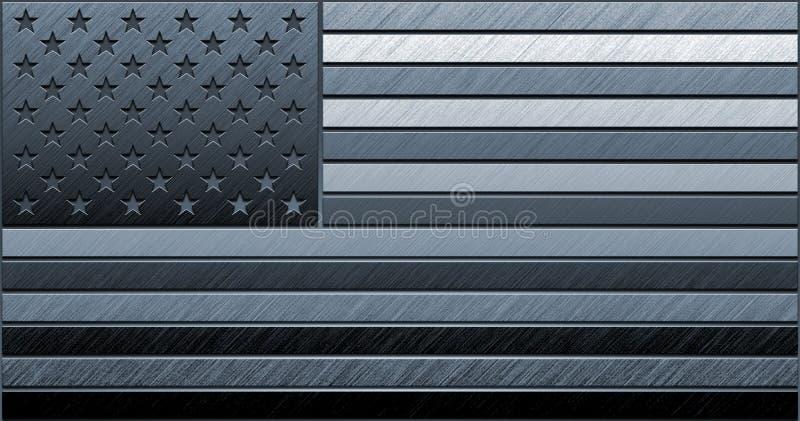flaga amerykańska ilustracja wektor